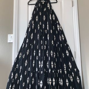 H&M Dresses - H&M MAXI TIER DRESS - W 10 US